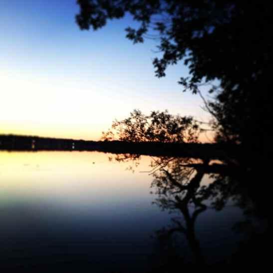 Sunset on Lake Harriet, Minneapolis