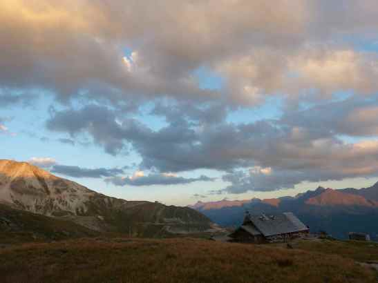 Sunset in Vanoise National Park, France