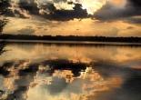 Sunset on Lake Harriet, Minneapolis, MN